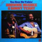 SONNY TERRY & BROWNIE MCGHEE You Hear Me Talkin' (aka C.C.Rider) album cover