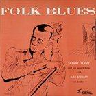 SONNY TERRY Folk Blues album cover