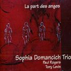 SOPHIA DOMANCICH La part des anges album cover