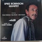 SPIKE ROBINSON Music Of Harry Warren - Vol. 2 album cover