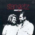 STAN GETZ Didn't We album cover