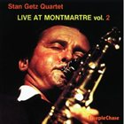 STAN GETZ Live At Montmartre Vol. 2 album cover