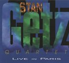 STAN GETZ Live in Paris album cover