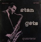 STAN GETZ Quartets album cover