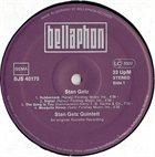 STAN GETZ Stan Getz (An Original Roulette Recording) album cover
