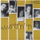 STAN GETZ Stan Getz, Dizzy Gillespie, Coleman Hawkins, Paul Gonsalves, Wynton Kelly, J.C. Heard, Wendell Marshall : Sittin' In album cover