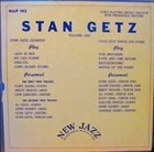 STAN GETZ Stan Getz Volume One album cover