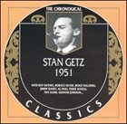 STAN GETZ The Chronological Classics: Stan Getz 1951 album cover