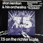 STAN KENTON 7.5 on the Richter Scale album cover