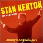 STAN KENTON Artistry in Progressive Jazz album cover