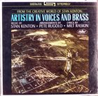 STAN KENTON Artistry in Voices and Brass album cover