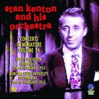 STAN KENTON Concerts In Miniature Volume 14 album cover