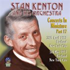 STAN KENTON Concerts In Miniature Volume 17 album cover
