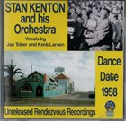 STAN KENTON Dance Date 1958 album cover