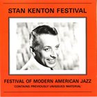 STAN KENTON Festival Of Modern American Jazz album cover