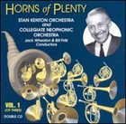 STAN KENTON Horns of Plenty, Volume 1 album cover