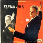 STAN KENTON Kenton in HI-FI album cover