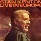 STAN KENTON Live in Europe album cover