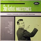 STAN KENTON Milestones album cover
