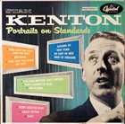 STAN KENTON Portraits on Standards album cover