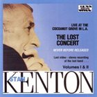 STAN KENTON The Lost Concert Vol. I & II album cover