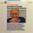 STAN KENTON Stan Kenton Today : Recorded Live In London album cover