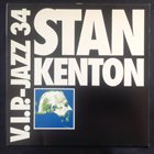 STAN KENTON V.I.P.-Jazz 34 Stan Kenton album cover