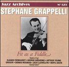 STÉPHANE GRAPPELLI Fit as a Fiddle 1933-1947 album cover