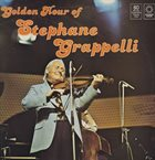 STÉPHANE GRAPPELLI Golden Hour Of Stephane Grappelli album cover