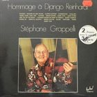 STÉPHANE GRAPPELLI Hommage A Django Reinhardt album cover