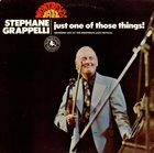 STÉPHANE GRAPPELLI Just One of Those Things: Recorded Live at the Montreux Festival (aka In Concert) album cover