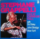 STÉPHANE GRAPPELLI Live at Carnegie Hall album cover