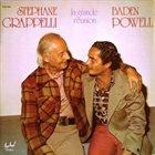 STÉPHANE GRAPPELLI Stéphane Grappelli / Baden Powell : La Grande Reunion album cover