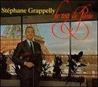 STÉPHANE GRAPPELLI Le toit de Paris album cover