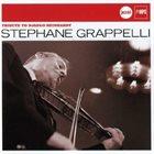 STÉPHANE GRAPPELLI Tribute to Django Reinhardt album cover