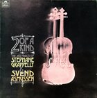 STÉPHANE GRAPPELLI Two Of A Kind (with Svend Asmussen) album cover