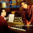 STEVE ALLEN Allen Plays Allen album cover