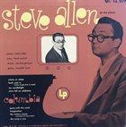 STEVE ALLEN At the Piano (aka Piano Tonight!) album cover