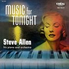 STEVE ALLEN Music for Tonight album cover