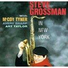 STEVE GROSSMAN In New York album cover