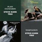 STEVE KUHN Plays Standards / Temptation album cover