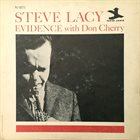 STEVE LACY Evidence (with Don Cherry) album cover