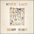 STEVE LACY Steve Lacy, Brion Gysin : Songs album cover