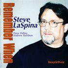STEVE LASPINA Remember When album cover