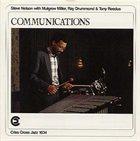 STEVE NELSON Communications album cover
