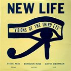 STEVE REID (DRUMS) New Life Trio ‎: Visions Of The Third Eye album cover