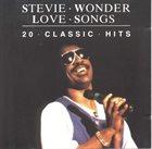 STEVIE WONDER Love Songs: 20 Classic Hits album cover