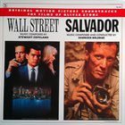 STEWART COPELAND Stewart Copeland / Georges Delerue ‎: Wall Street / Salvador (Original Motion Picture Soundtracks) album cover
