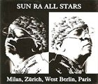 SUN RA Milan, Zurich, West Berlin, Paris album cover