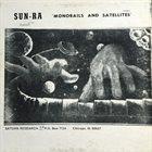 SUN RA Monorails and Satellites album cover